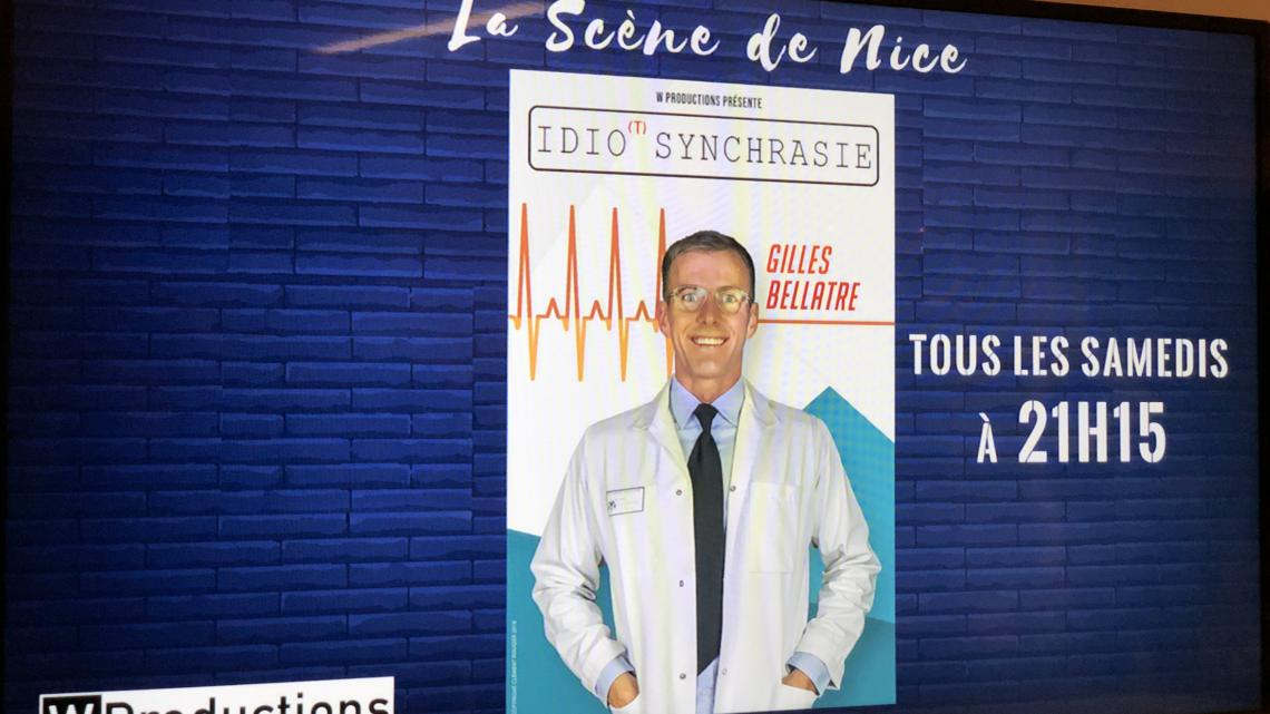 Spectacle de Gilles Bellatre sur la Scène de Nice