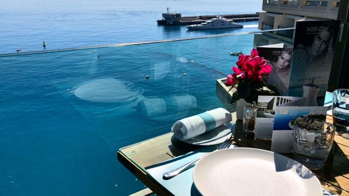 TOP 10 des raisons d'aller déjeuner à l'Horizon Fairmont Monaco