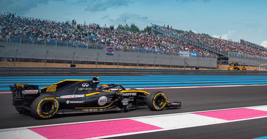 La Formule 1 à Nice