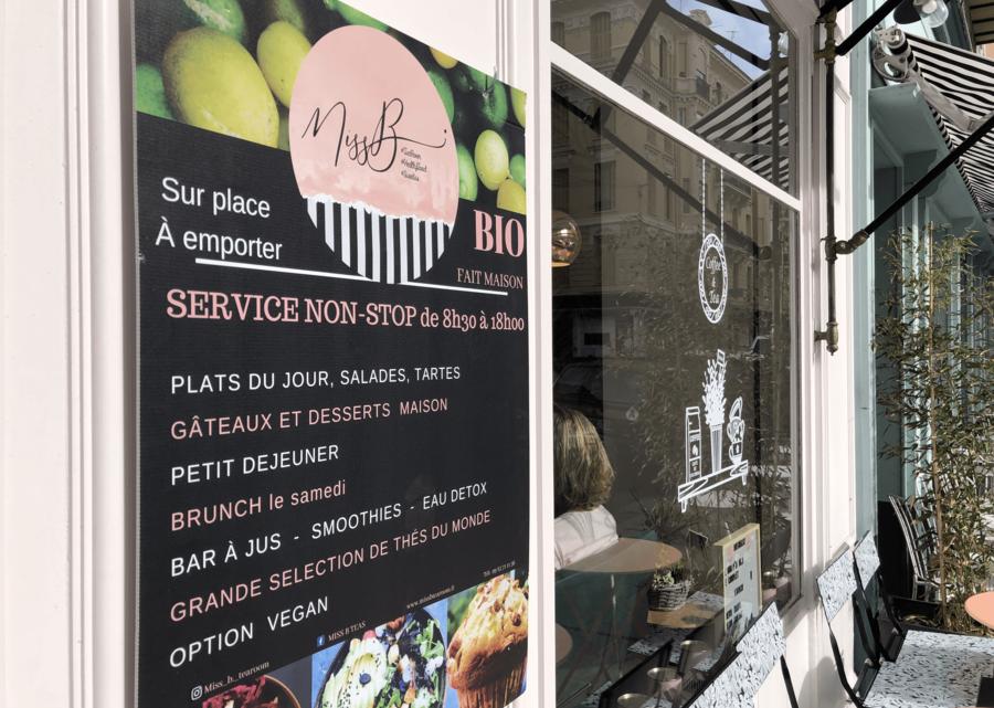 Miss B : nouvelle belle adresse gourmande à Nice