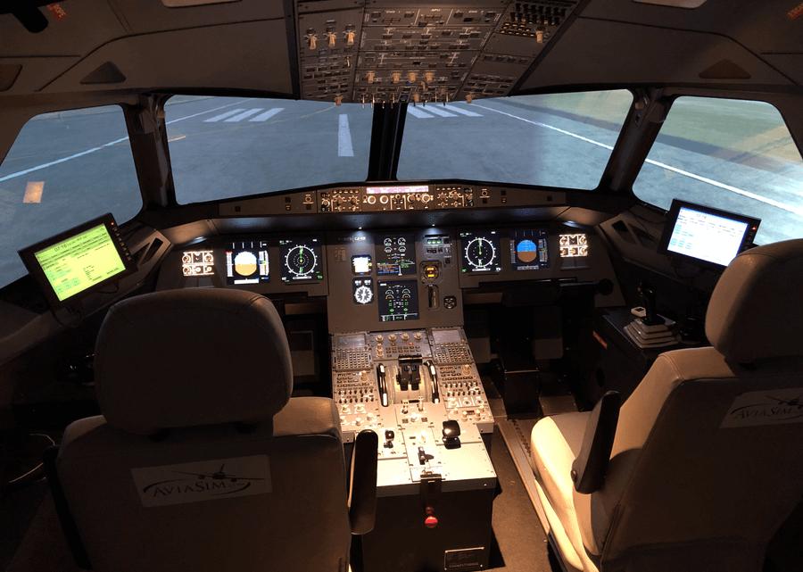 AviaSim : simulateurs de vols Nice Côte d'Azur